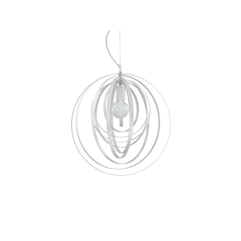 Sedia ecopelle bianca - Evergreen House