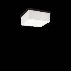 Tavolino c/doppio piano vetro